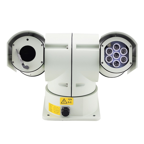 Vehicle PTZ  Camera C812 for  police  car